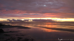 2016 - Landscape - Sunset - Largs - 02_24_07.jpg (stevenlazar) Tags: ocean sunset beach clouds waves jetty australia adelaide southaustralia largs 2016