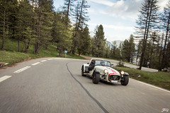 Caterham R300 (Jpog photographie) Tags: summer mountain france alps ford st montagne alpes french lotus sunny roadtrip renault sirius t rs caterham izoard r300 cayolle
