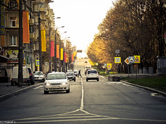 DSCN2335 (Quick_Reality) Tags: road street houses photography photo place russia moscow vasilevskogo