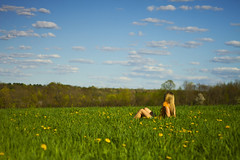 Spring Fresh (Matt Champlin) Tags: life sexy love beautiful canon outdoors freedom spring perfect picnic peace hiking earth walk calming environmental peaceful calm hike fresh wife environment shorts openspace stace idyllic tranquil sustainable springtime sustainability 2013 watchingthecloudsgoby womanlyinginfield womanlyinginspringrtimefield
