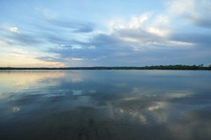 Lake McCullom (Seth Oliver Photographic Art) Tags: clouds reflections landscapes iso200 illinois nikon midwest cloudy lakes sunsets pinoy chicagoland circularpolarizer chicagoist d90 mchenrycounty wetreflections handheldshot aperturef40 manualmodeexposure setholiver1 lakemccullom 1024mmtamronuwalens 1125secondexposure