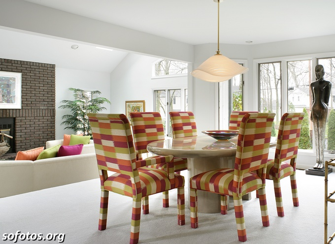 Salas de jantar decoradas (109)