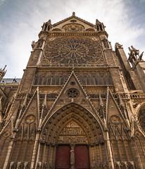 Notre Dame de Paris (75) (Mikl - Concept-Photo.fr (CRBR)) Tags: paris seine capitale notre dame 75 eglise cathedrale