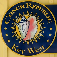 Conch Republic (Timothy Valentine) Tags: vacation sign florida large tourist squaredcircle 0413