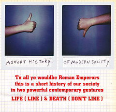 A Short History (My name's axel) Tags: life art history polaroid death power belgium roman contemporary text culture structures like arena human conceptual gesture ruscha society comment emperor sask consumption 680 gestures gladiators baldessari crises px commodities dontlike polaroidpx680 axelstevens
