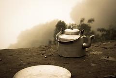 High Tea Kettle (Sharada Prasad) Tags: morning nepal fog tea first roadtrip kettle