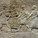 Lion Hunts of Ashurbanipal, walking figures