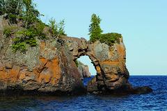 Tettegouche State Park arch