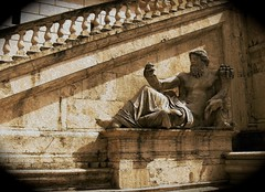 Home of the Gods (Jocelyn777) Tags: italy sculpture rome history sepia explore textures monuments antiquity romanhistory classicalantiquity texturedeffects flickr12days