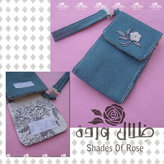 ~ (Dhelal Warda) Tags: mobile handmade case fabric accessories                               shadesofrose 5