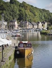 River boat trip - Dinan (Kotomi_) Tags: trip travel summer holiday france water river boat brittany dinan riverrance