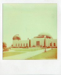 Griffith observatory (teacup_dreams) Tags: film america project polaroid los angeles observatory griffith impossible