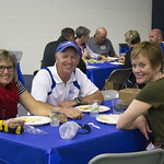 """<b>Football Alumni Gathreing</b><br/> Former football players and their families gathered for a luncheon over homecoming weekend to celebrate 100 years of Luther College football. Photo by Breanne Pierce<a href=""""http://farm8.static.flickr.com/7456/10139346435_acc34daf9f_o.jpg"""" title=""""High res"""">∝</a>"""