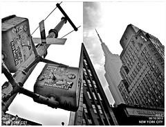 New York City / Nikon D3100 (Flo.C) Tags: world street new york city bridge usa building brooklyn liberty nikon state center empire wtc trade d3100