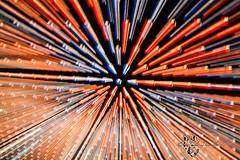 Esplosione di luci d'artista ( Dany88 ) Tags: stella canon torino eos l 5d luci notturna artista zooming 24105 esplosione 5dmarkii 5dii 5dmkii