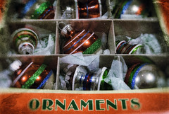 How To Decorate A Christmas Tree If You Have Cats (hbmike2000) Tags: christmas old decorations holiday glass glitter vintage nikon shiny bokeh box tissue small decoration retro ornament ornaments worn torn christmasornament d200 scratched vignette tissuepaper odc christopherradko hcs niksoftware shinybright orderandchaos clichesaturday hbmike2000 analogefex flickr12days