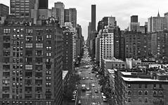 Midtown Manhattan - New York City (Nico Geerlings) Tags: leica city nyc newyorkcity people blackandwhite bw usa ny newyork monochrome 35mm photography mono town us view manhattan candid rangefinder midtown summicron queensborobridge reallife firstavenue humancondition suttonplace rooseveltislandtram streetstreet blackandwhitephotos blackwhitephotos mygearandme nicogeerlings leicammonochrom