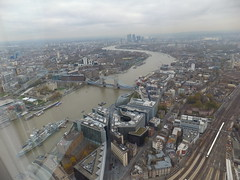 A trip to The Shard (erintheredmc) Tags: from road city travel bridge house building london eye tower church station saint by thames skyline modern floors court river temple hall big europe european view cross cathedral ben tate erin walk top district piano rail parliament millenium pauls somerset victoria queen queens more master architect wharf western charing crown kensington canary 69 shard financial gherkin 72 bt oval southwark lambeth renzo mccormack 68 tallest designed cathdral walkie talkie uploaded:by=flickrmobile flickriosapp:filter=nofilter