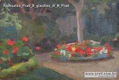 Romualdo Prati Il giardino di R Prati