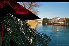 L'aria di Natale sul fiume Brenta