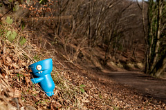 Uglyworld #2172 - Lasts One Up Buys Lunchers - (Project On The Go - Image 4-365) (www.bazpics.com) Tags: blue grass project germany fun toy lunch deutschland countryside blog scenery day action walk country hill steps january vinyl scenic 4th hike website aachen figure 365 win adventures uglydoll lose distance count wedgie scramble uglydolls 2014 wedgehead wurmtal uglyworld prettyugly barryoneilphotography adventuresinuglyworld uglyadventures