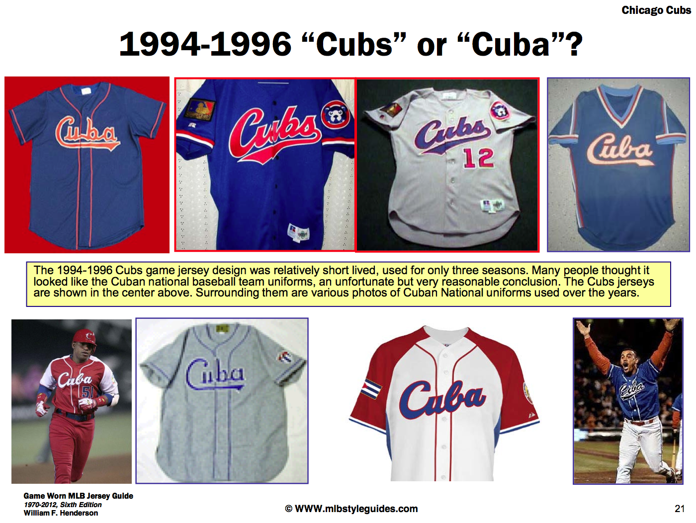 afb6d8ccd6f ... many observers of the Cuban national team s uniform ...
