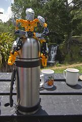 tea break (nzweeble) Tags: canon lego nz 7d bionicle