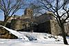 Castle Keep (Eddie C3) Tags: newyorkcity snow gardens parks metropolitanmuseumofart fttryonpark thecloisters nycparks cloistersmuseumandgardens