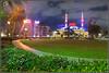 Sharjah light festival (Jogesh S) Tags: longexposure light canon uae lighttrails sharjah 6d lightinstallation nomada lightfest canonef1635mmf28liiusm canonef1635f28lii kingfaisalmosque masjidalmalekfaisal sharjahlightfestival2014