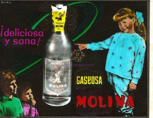 """Carbónicas Molina """"Deliciosa y sana"""". Años 70"""