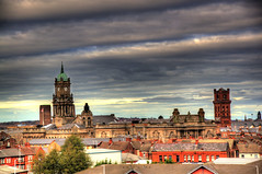 2013 11 091 Birkenhead Priory HDR (Tony Shertila) Tags: england sky panorama church water weather clouds europe day ship cloudy britain birkenhead hdr wirral merseyside cammelllaird birkenheadpriory