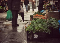 At the market (Mara Taboada) Tags: verduras vegetables rain lluvia market santiagodecompostela plazadeabastos