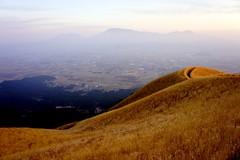 Mount Aso Caldera. Aso Kujū National Park, Kumamoto Prefecture.