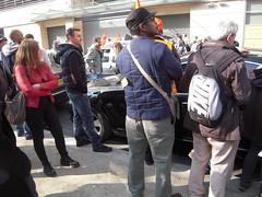 OLIVIER BESANCENOT (marsupilami92) Tags: paris france frankreich ledefrance 75 manifestation sud grve laposte syndicat solidaires olivierbesancenot 15emearrondissement sudposte