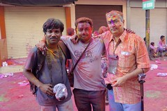 Holi 2014 (Hyderabad) - 40 (Rajesh_India) Tags: street friends india colour festival colorful traditions hyderabad holi