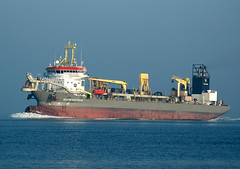 Willem Van Oranje on the Solent (A F Photos) Tags: solent shipping