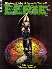 EERIE (issue #8-March 1967) (KlaatuCarpenter) Tags: magazine comic eerie frankfrazetta warrenpublications
