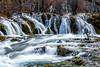 Silky Stream (nurshammamat) Tags: china park autumn heritage water beauty river landscape amazing nikon stream colours filter national slowshutter stunning jiuzhaigou nd400 nd500 lightcraftworkshop