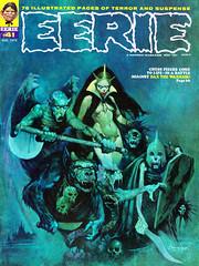 EERIE (issue #41-August 1972) (KlaatuCarpenter) Tags: magazine comic eerie sanjulian warrenpublications manuelperezclemente