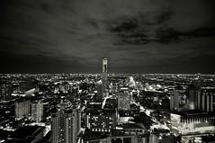 Bangkok Skyscape (Gug Puck) Tags: city nyc sky urban blackandwhite newyork building london beautiful skyline landscape thailand tokyo cool pretty cityscape view top bangkok olympus thai omd em1 1240 mirrorless