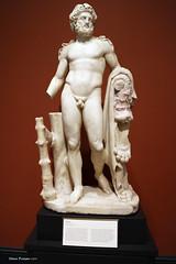 Getty Villa - Hercules (SteveProsser) Tags: losangeles olympia hercules olympicgames jpaulgetty herakles gettyvilla