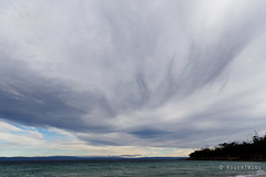 20140420-04-Thick clouds from Cooks Beach.jpg (Roger T Wong) Tags: sea beach clouds trek nationalpark sand walk australia hike granite tasmania np bushwalk tramp eastcoast freycinet 2014 cooksbeach freycinetnationalpark canonef24105mmf4lisusm canon24105 canoneos6d rogertwong