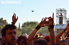 Dron # Viña Rock 2014