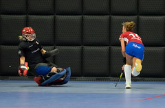 P1250007a (roel.ubels) Tags: hockey sport rotterdam indoor playoffs promotie 2015 degradatie topsport zaalhockey knhb topsportcentrum
