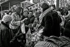 special sale (harumichi otani) Tags: bw tokyo sale streetphotography monochrom bwphotography sugamo japanphotography japanstreetphotography japanbwphotography