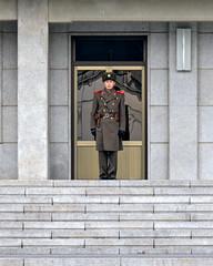North Korean Soldier (Mondmann) Tags: soldier asia military guard security korea southkorea dmz rok northkorea jsa eastasia dprk republicofkorea northkorean demilitarizedzone jointsecurityarea mondmann nikond7100