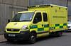 London Ambulance Service Vauxhall Movano Motorcycle Response Unit - LJ04 YLT