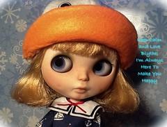 Blythe-a-Day Jan.#31:Keep Calm and...:Dunaway Says Keep Calm & Love Blythe