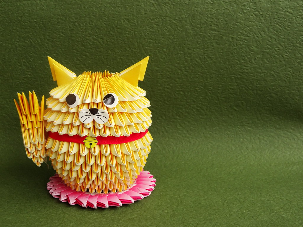 Maneki neko origami choice image craft decoration ideas 3d origami superman image collections craft decoration ideas maneki neko origami gallery craft decoration ideas 3d jeuxipadfo Image collections