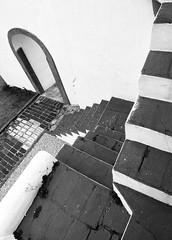 (Bruno Leonardelli) Tags: brazil blackandwhite bw sc stairs de stair lisboa steps pb florianopolis step escada santacatarina antonio santo degrau preoebranco